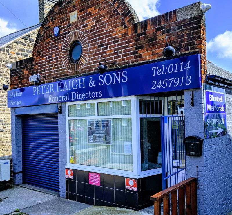 Peter Haigh & Sons Funeral Directors, South Yorkshire, funeral director in South Yorkshire