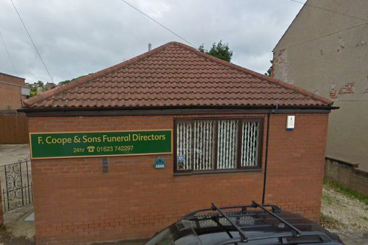 F. Coope & Sons Funeralcare, Shirebrook