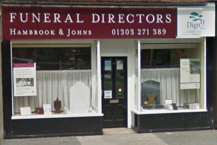 Hambrook & Johns Funeral Directors, Cheriton