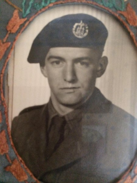 when dad was is 18 in  service