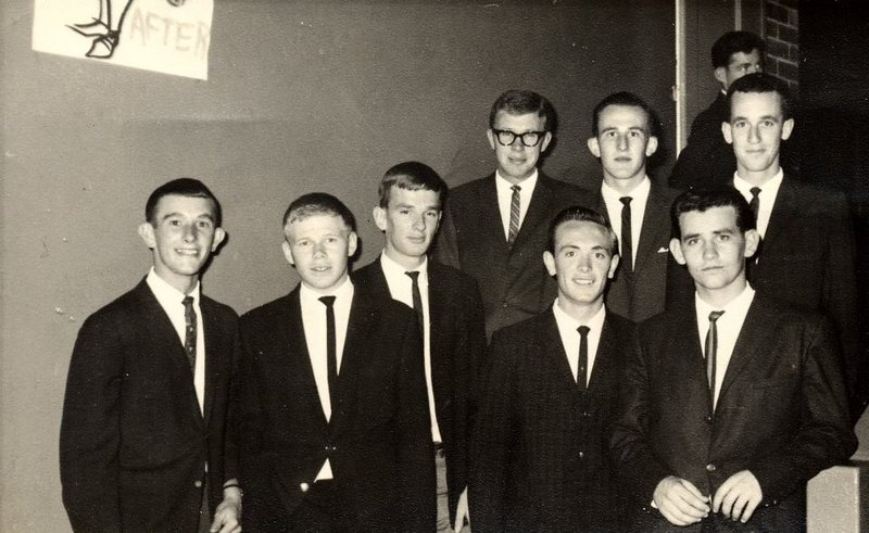 This was Graeme (second from left in front) with colleagues back in 1961 or 62 at Armidale Teachers College.  In my mind he is forever young.  Rest in peace Sharpie.
