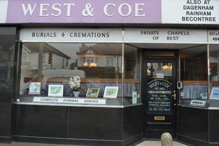 West & Coe Funeral Directors, Hornchurch
