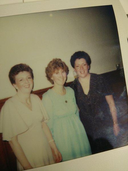 Mum, Irene and Christine Forsyth...