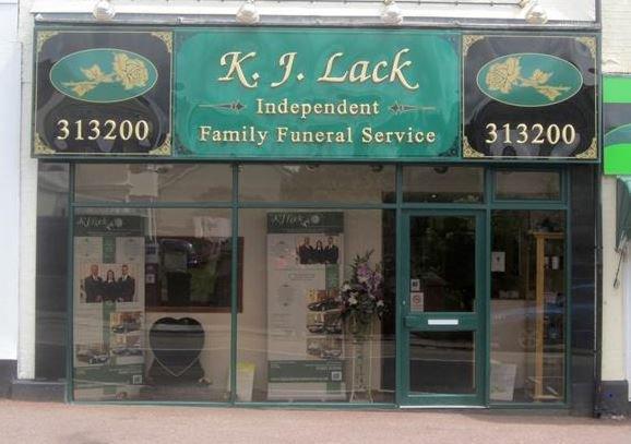 K.J Lack Independent Family Funeral Service