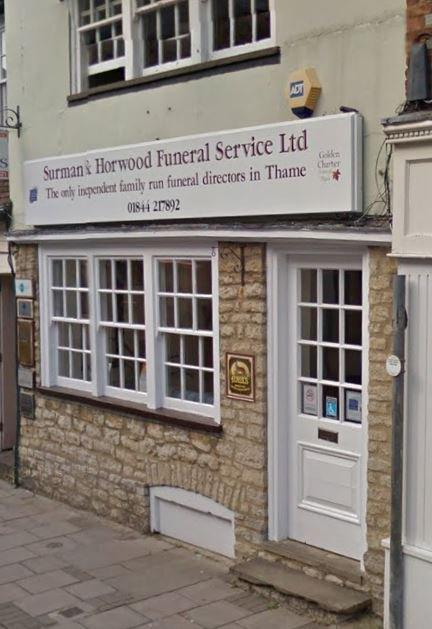 Surman & Horwood Funeral Service Ltd, Thame