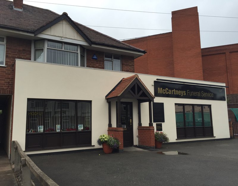 McCartneys Funeral Service, Leicestershire, funeral director in Leicestershire