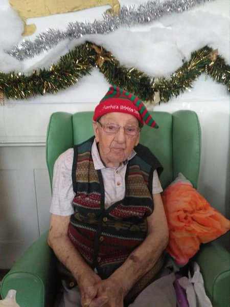 Ray as and elf Xmas just gone Bless him, always had a smile for you xx