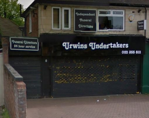Urwins Undertakers Ltd, Birmingham
