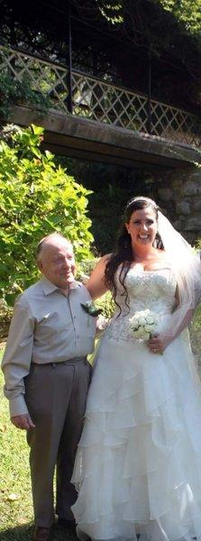 Me and my Granda on my wedding day ❤