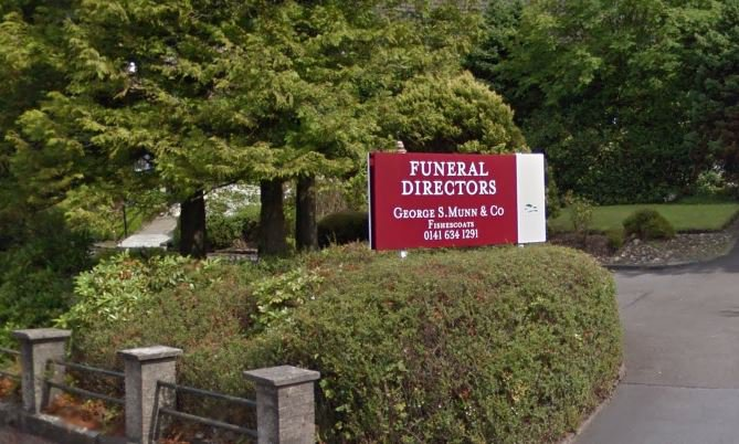 George S Munn Funeral Directors, South Lanarkshire, funeral director in South Lanarkshire
