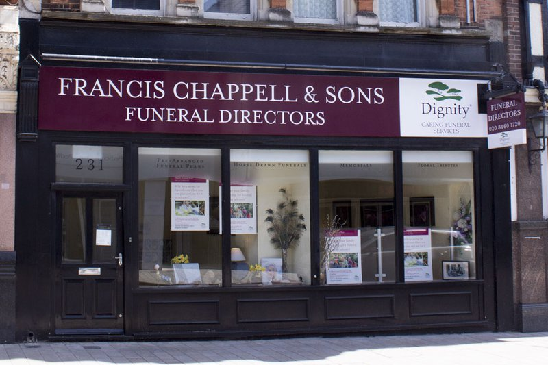Francis Chappell & Sons Funeral Directors, Bromley, Kent, funeral director in Kent