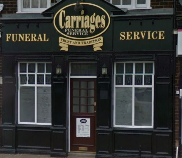 Carriages Funeral Service Ltd, Irlam