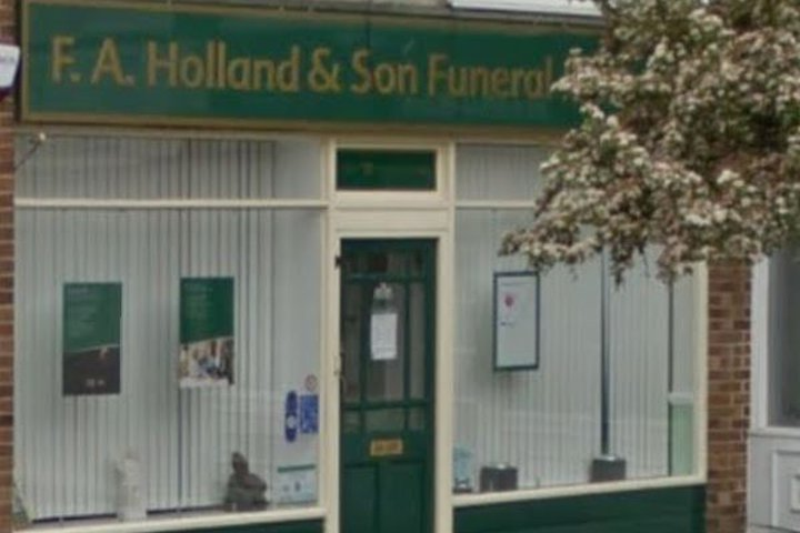 F A Holland Funeralcare, East Wittering