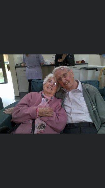 Joyce & Roy lovebirds