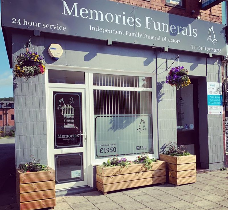Memories Funeral Services, Stockport, funeral director in Stockport