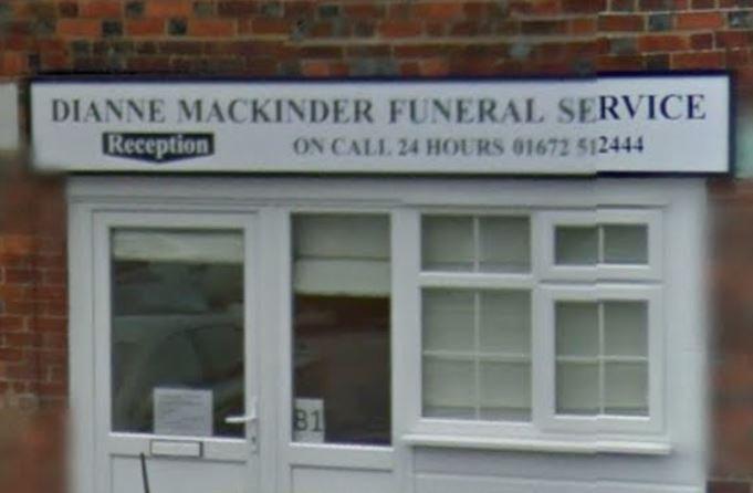 Dianne Mackinder Funeral Service