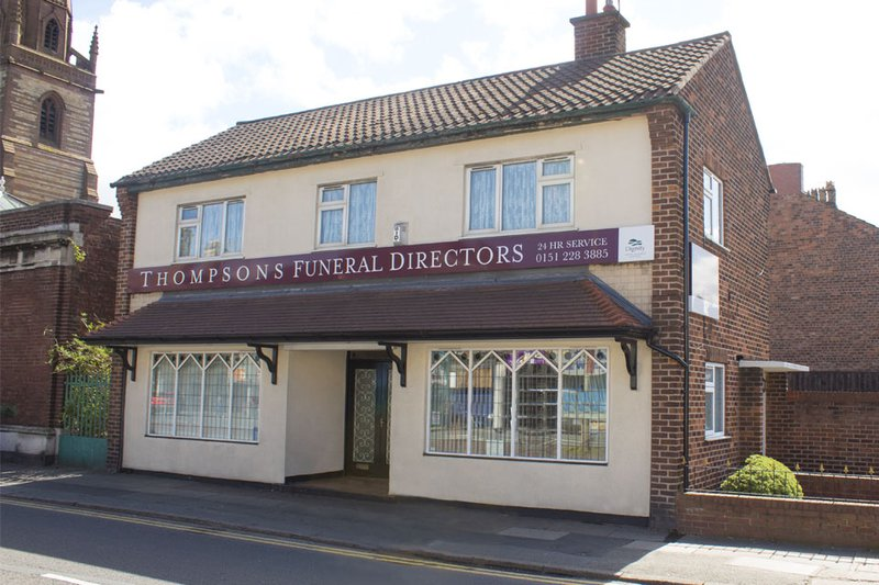 Thompson's Funeral Directors, Tuebrook, Liverpool, funeral director in Liverpool