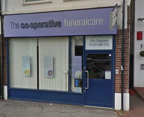 Co-op Funeralcare, Swanley