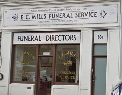 E.C Mills Funerals, Branch Office