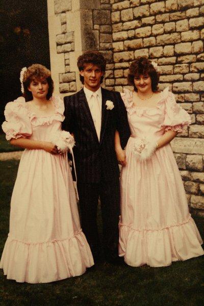 My beautiful bridesmaid Janice 💕 Rest in peace. Love Carol xxxx