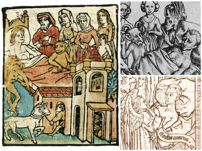 The illuminating art of dying in the Middle Ages