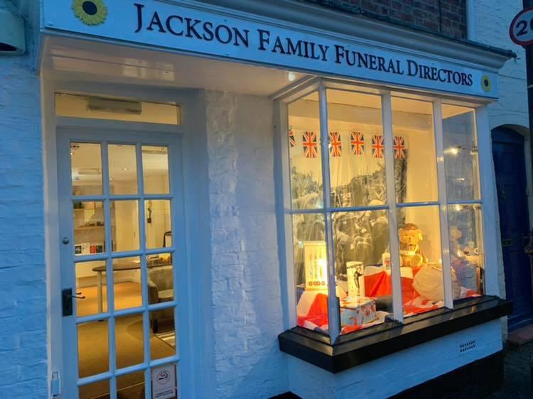 Jackson Family Funeral Directors, Pershore, Worcestershire, funeral director in Worcestershire