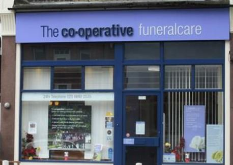 Co-op Funeralcare, Brockley