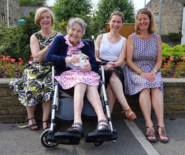 Mum's 88th Birthday celebrations with daughters and granddaughters.