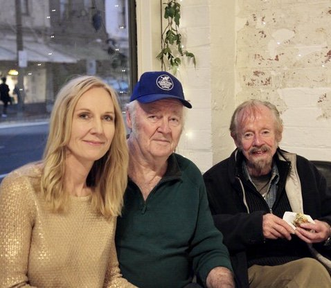 With his big brother Kerry and myself, at my book launch in May 2019. It was very special to have him there as his health had begun declining & I was worried he wouldn't make it. Meant a lot to me that he & Toni came.