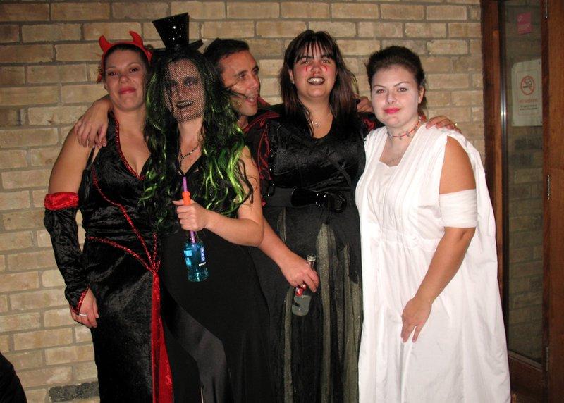 Halloween Disco ... with a Blue WKD (2011)