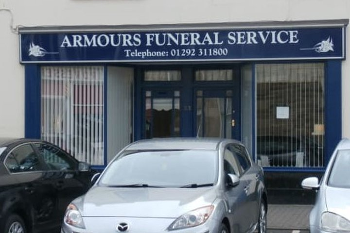 Armours Funeral Service, Troon