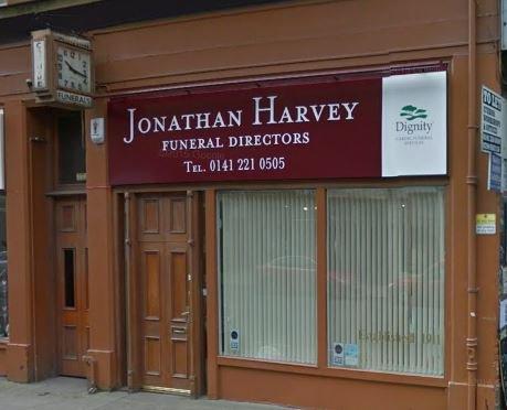 Jonathan Harvey Funeral Directors, Sandyford