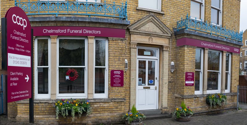 Co-operative Funeral Services Broomfield, Essex, funeral director in Essex