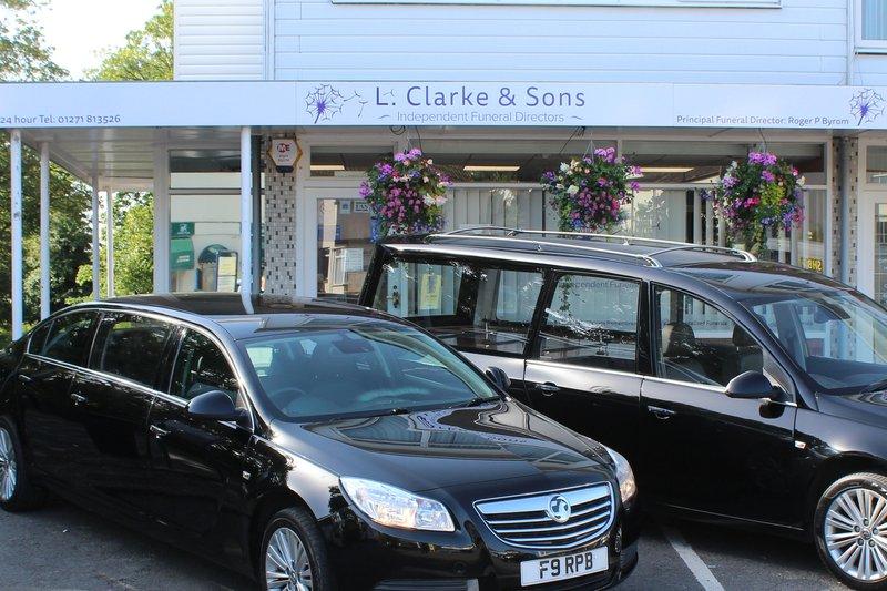 L Clarke & Sons, Devon, funeral director in Devon