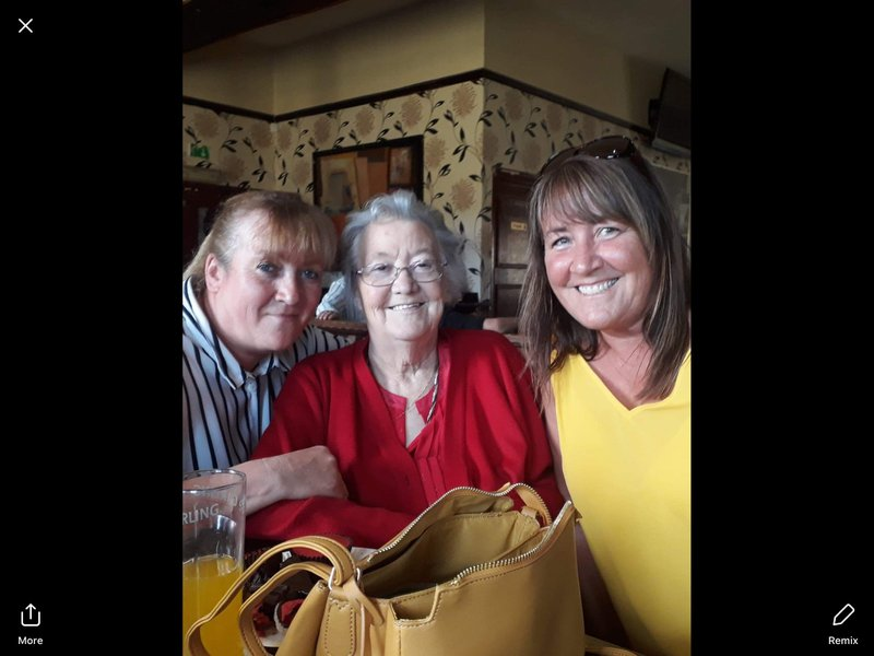 Can't belive you have gone mam miss you so much, hope you and dad are happy together again xxx