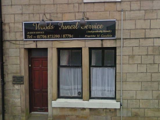 Woods Funeral Service, Bacup