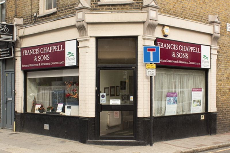 Francis Chappell & Sons Funeral Directors, Greenwich