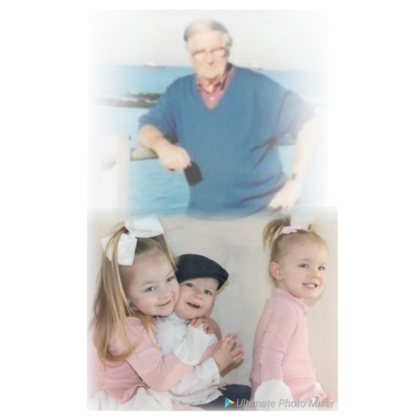 Grandad our angel💙 I know you would be so proud of all your great great grandchildren 😭❤ I love you my grandad 💙