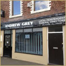 Andrew Grey Funeral Directors, Houghton Le Spring, Durham, funeral director in Durham