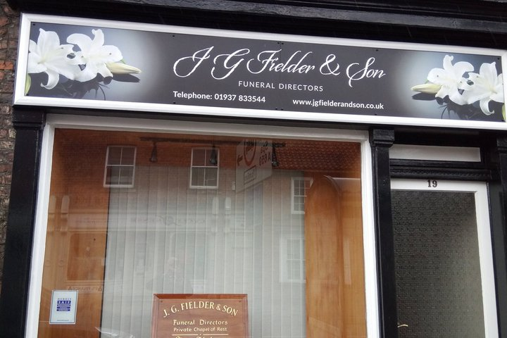 J G Fielder & Son Funeral Directors, Tadcaster