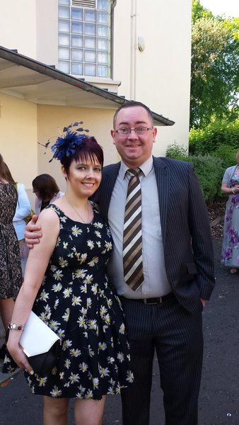 So many memories of our time together. This was the first date. The wedding.  6th June 2014. The day was perfect just like you. Love you husband xxxx