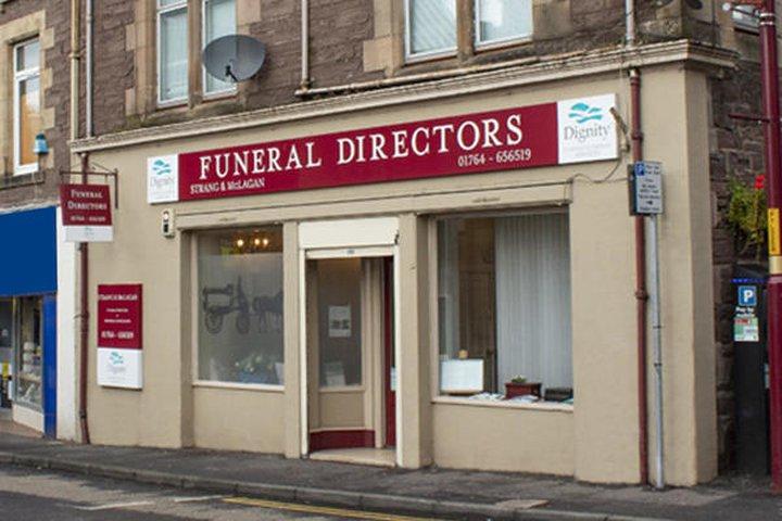 Strang & McLagan Funeral Directors, Crieff