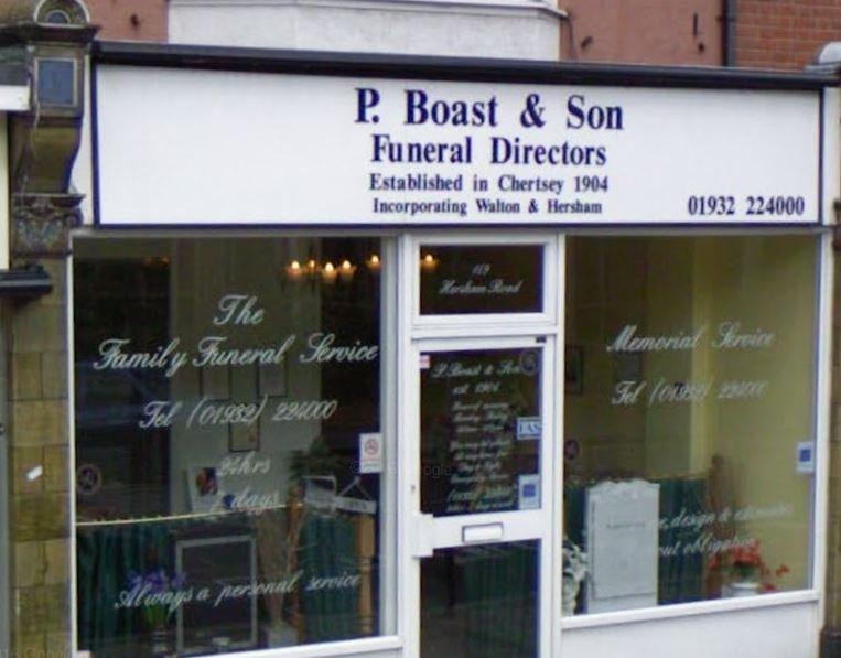 P Boast & Son, Walton-on-Thames