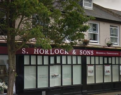T S Horlock & Son Funeral Directors, Gravesend