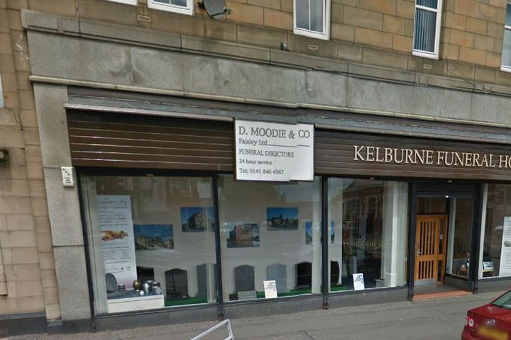 D Moodie & Co, Paisley