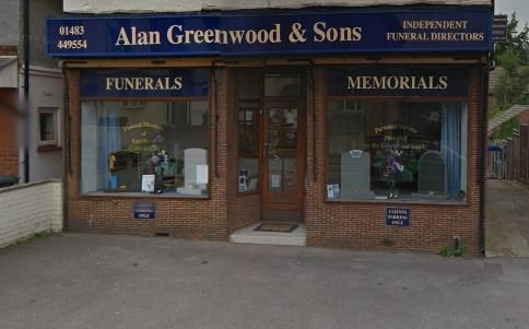 Alan Greenwood & Sons Guildford, Surrey, funeral director in Surrey