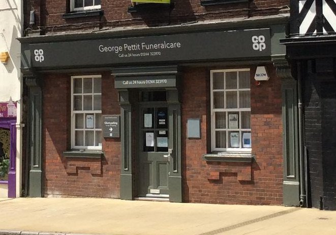 George Pettit Funeralcare, Chester, Cheshire West and Chester, funeral director in Cheshire West and Chester