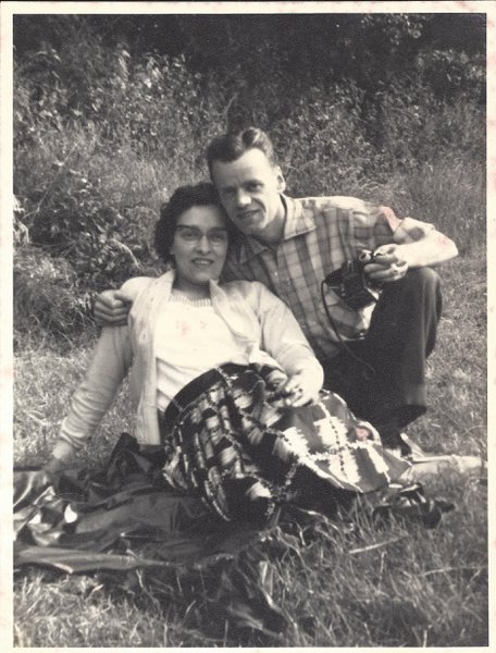 Doris and Bill 1950s