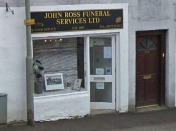 John Ross Funeral Services Ltd