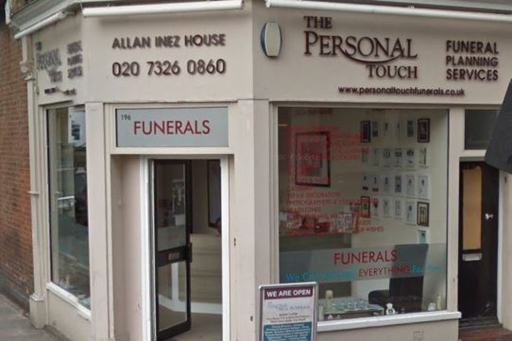 The Personal Touch Funeral Planning Services Ltd,
